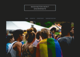 washingtonwontdiscriminate.org