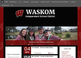waskomisd.net