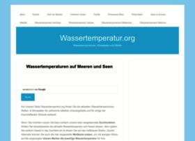 wassertemperatur.org