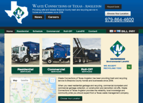 wasteconnectionsangleton.com