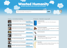 wastedhumanity.com
