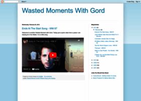 wastedmoment.blogspot.com