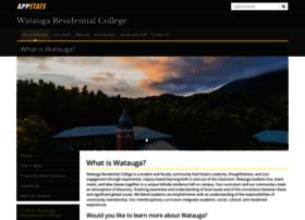 watauga.appstate.edu