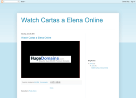 watch-cartas-a-elena-online.blogspot.tw