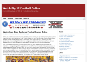 watchbig12footballonline.com