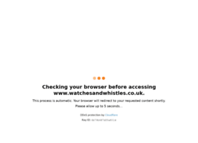 watchesandwhistles.co.uk