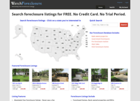 watchforeclosure.com