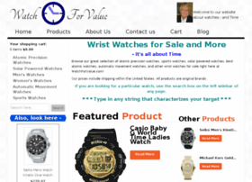 watchforvalue.com