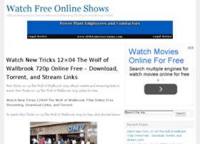 watchfreeonlineshows.com