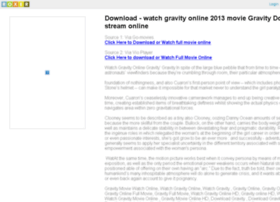 watchgravityonline.roxer.com