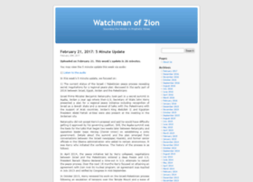 watchmanofzion.com