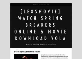 watchspringbreakersonline.yolasite.com
