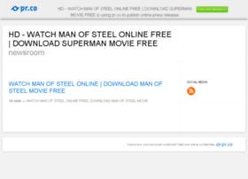 watchsupermanofsteelonline.pressdoc.com