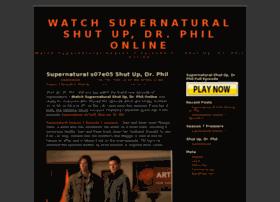 watchsupernaturalshutupdrphilonline.wordpress.com