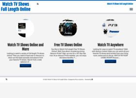 watchtvshowsfulllengthonline.com