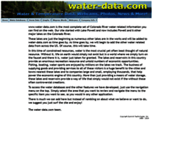 Water-data.com