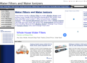 water-filters-and-water-ionizers.findthingshere.com