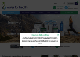 water-for-health.co.uk