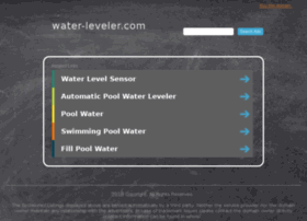 water-leveler.com