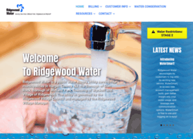 water.ridgewoodnj.net
