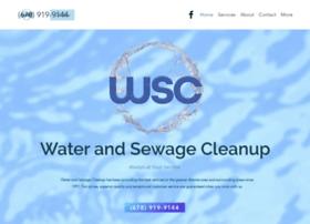 waterandsewagecleanup.com