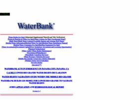 waterbank.com