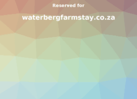 waterbergfarmstay.co.za