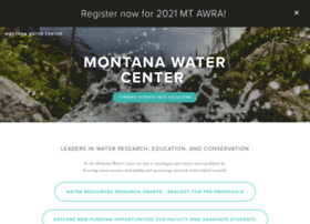 watercenter.montana.edu