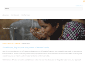 watercredit.org
