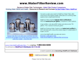 waterfilterreview.com