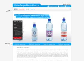 waterflesjesbedrukken.nl