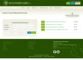 waterford.rootsireland.ie