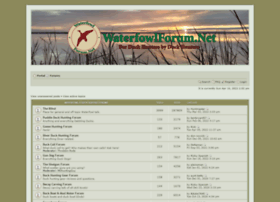 waterfowlforum.net