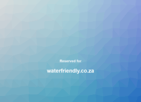 waterfriendly.co.za