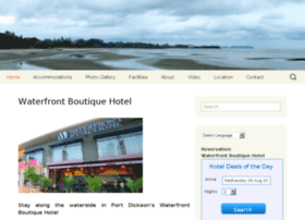 waterfrontboutiquehotel.com