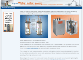 waterheater-leaking.com