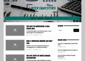 waterinvestors.org