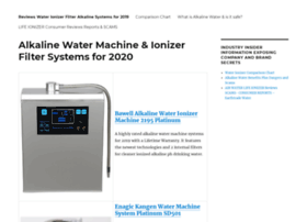 waterionizermachinereviews.com