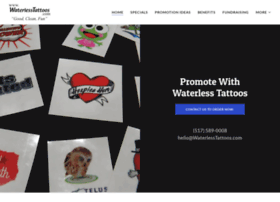 waterlesstattoos.com