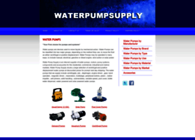 waterpumpsupply.com