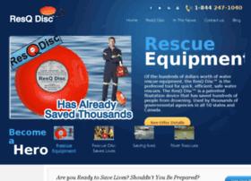 Waterrescuegear Info Water Rescue Gear Frisbee Resqdisc