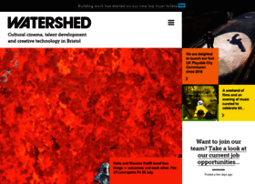 watershed.co.uk