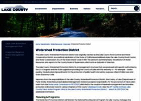 watershed.lakecountyca.gov