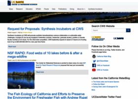 watershed.ucdavis.edu