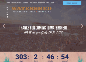 watershedfest.com