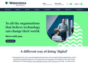 waterstons.com
