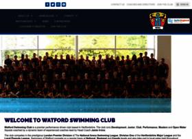 watfordswimmingclub.co.uk