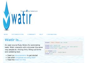 watirwebdriver.com