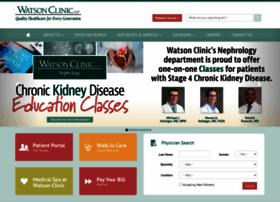 watsonclinic.com