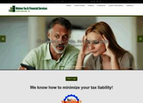 watsontaxfinancial.com